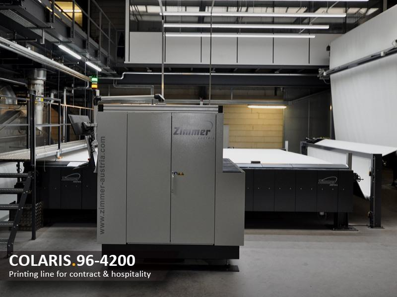 COLARIS.96-4200 Printing line for contract & hospitality