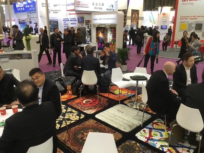 DOMOTEX Asia / CHINAFLOOR has opened its doors