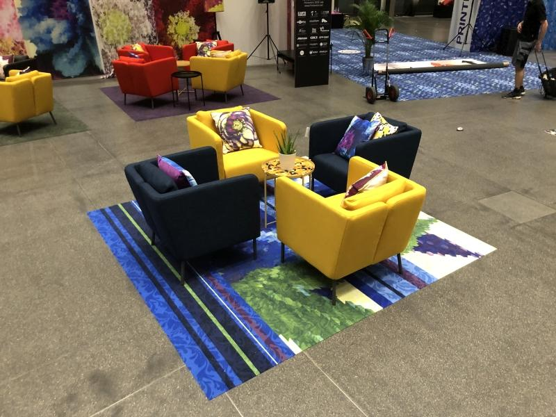 Printeriors - Fespa 2018 (Digital Printed Carpet with COLARIS)