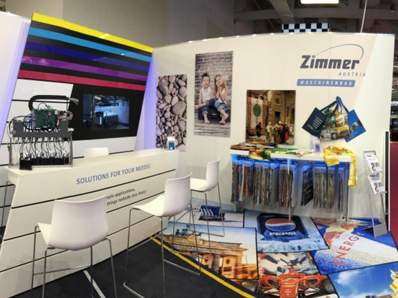 FESPA Berlin 2018 - ZIMMER AUSTRIA (COLARIS.Pigment)