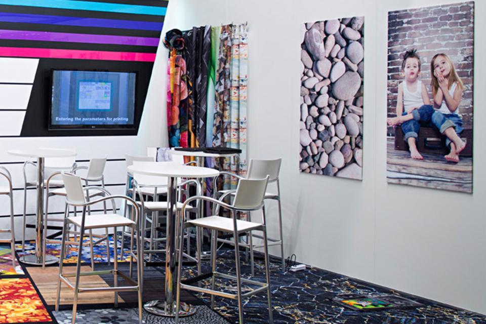 Heimtextil Frankfurt 2017 ZIMMER AUSTRIA COLARIS Carpet, Towels and Textiles