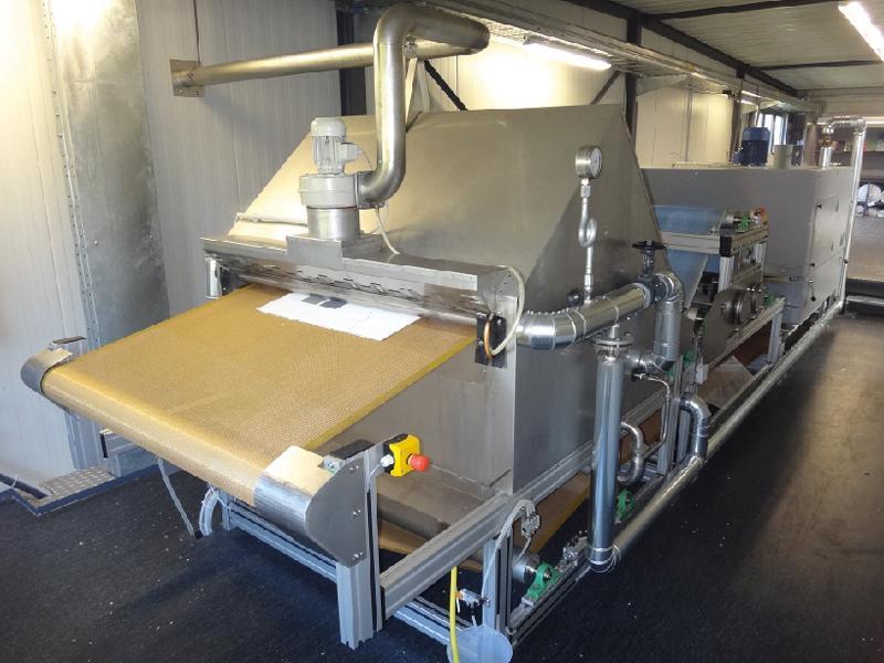 Labor-Teppich-Nachbehandlungslinie
