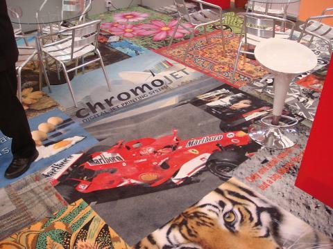 Event Carpet (ChromoJET)