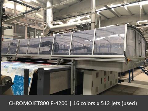 CHROMOJET800 4200 16x512 (used)