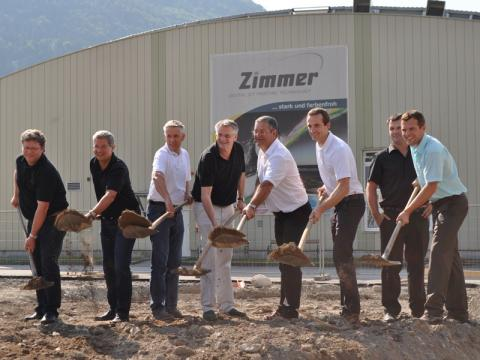 Ground-breaking ceremony for new Digital Printing Technology Centre 001