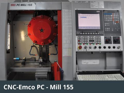 CNC-Emco PC - Mill 155