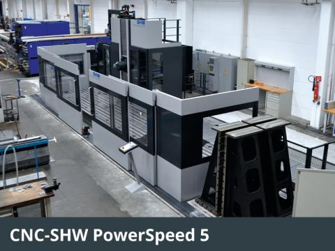 CNC-SHW PowerSpeed 5
