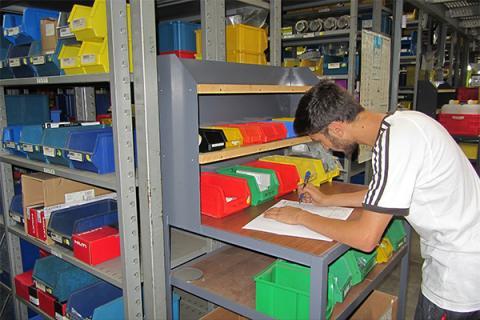 Lehre Zimmer Betriebslogistik